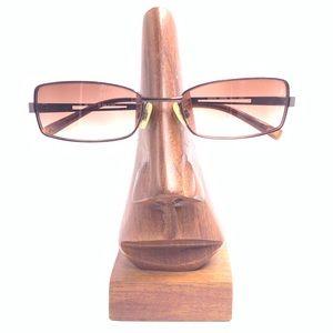 Vintage Anne Klein AK6131 Bronze Sunglasses Frames